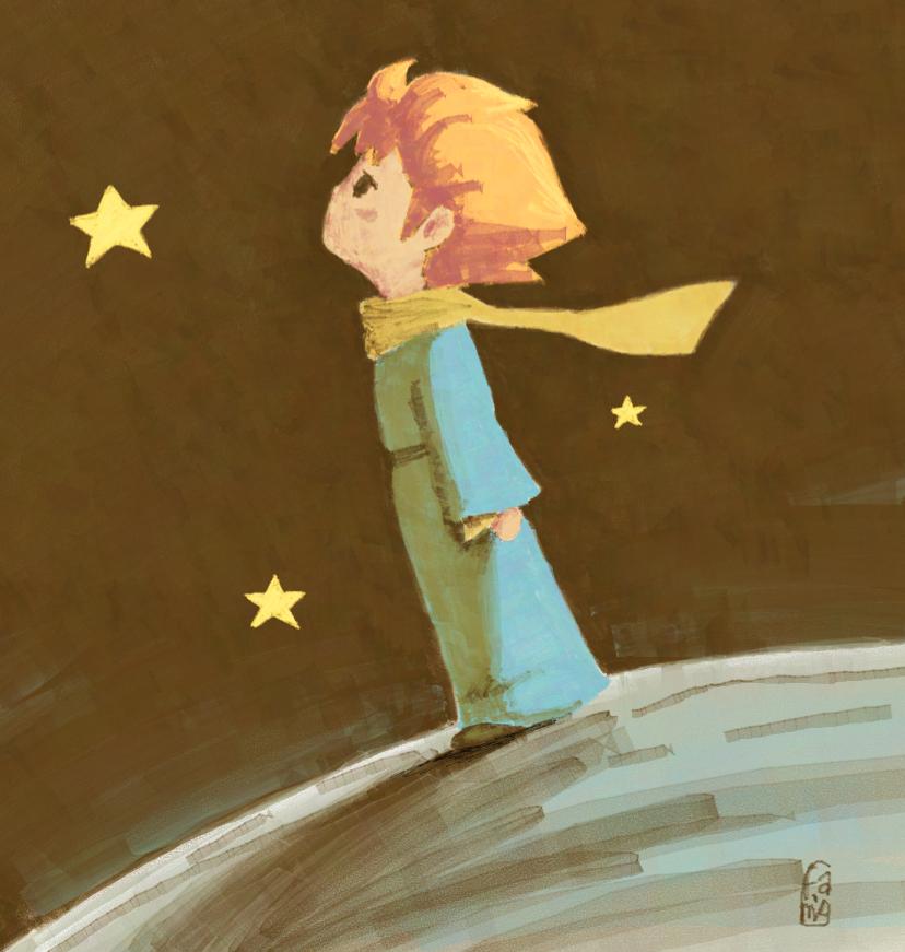 little_prince_by_famoalmehairi-d5p6l5b